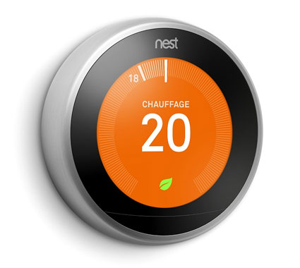 Farsight: When the Nest Thermostat spots you across the room, it lights Nest 2,,+ followers on Twitter.